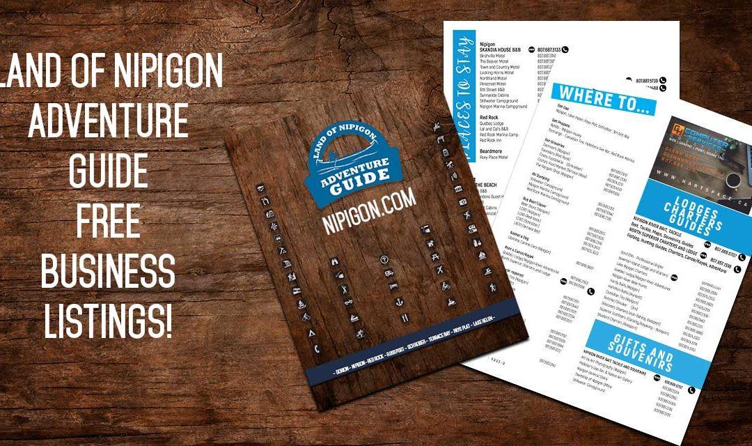 FREE Land of Nipigon Business Listing